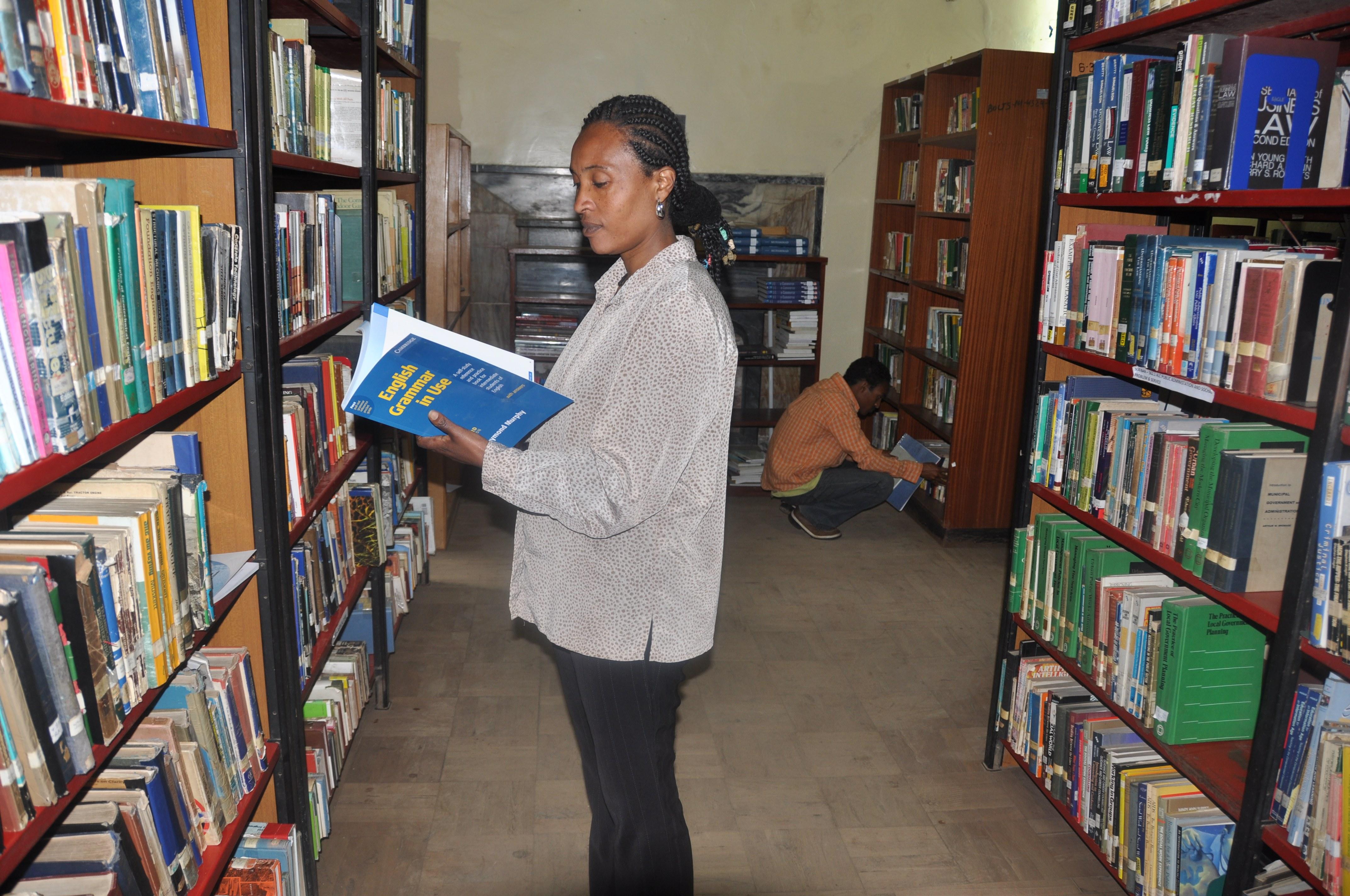 biblioteca en Addis Abeba